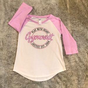 2/$12 ⭐️ Justice Gymnast long sleeve T-shirt